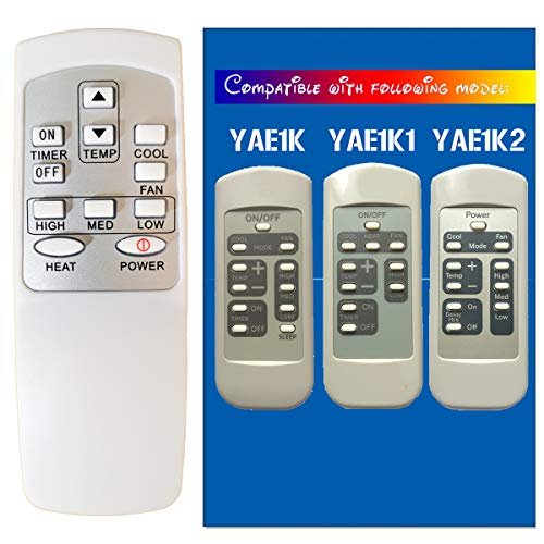 Replacement for GE Window Air Conditioner Remote Control (HA-G-02)