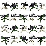FutureShapers Waffen Set im zweiten Weltkrieg SWAT Team Polizei Soldaten Mini Figuren, passen zum Lego,20 stes