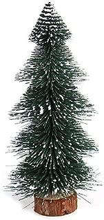 Thinktoo Christmas Decorations Christmas Tree Shaped Pagoda Shaped Needle Pine Mini Christmas Tree Stick White Cedar Office Small Christmas Tree Arts Craft for Home Decoration