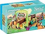 Playmobil - Lucky et Spirit avec box - 9478