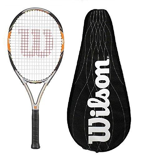 Wilson Nitro Pro 103 BLX Carbono Raqueta De Tenis con completo blx Funda - L2