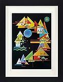 1art1 Wassily Kandinsky - Spitzen Im Bogen, 1927 Gerahmtes