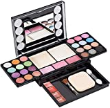 Eyeshadow Palette Makeup Palette 33 Bright Colors Matter and Shimmer Lip Gloss Blush Brushes Cosmetic Makeup Eyeshadow Highly Pigmented Palette
