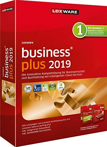 Lexware business plus 2019 Minibox (Jahreslizenz)|für Kleinunternehmer, kaufmännische Einsteiger und Gründer|Software für Buchhaltung und Auftragsbearbeitung|Kompatibel mit Windows 7 und aktueller