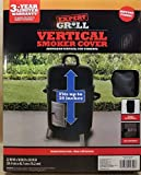Expert Grill Vertical Smoker Cover (22 in W x 18 in D x 30 in H) Durable Ripstop Fabric