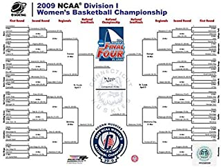 2009 NCAA Women's Final 4 Championship Bracket Photo (Size: 8