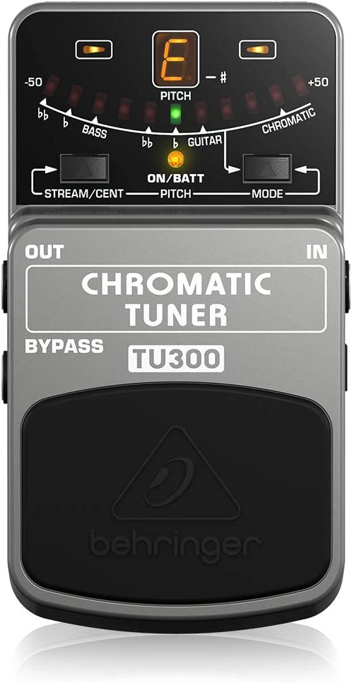 Behringer TU300 Ultimate Large special price !! Guitar Bass All stores are sold Grey Tuner