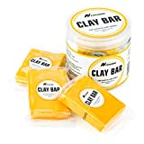 Car Clay Bar 3 Pack 100g, Premium Grade Clay Bars Detailing Magic Clay Bar Cleaner Auto Wash Bars with Washing and Adsorption Capacity for Car Wash Car Detailing Clean,RV, Bus,Glass Cleaning (Yellow)