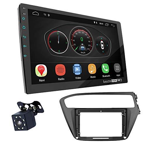 UGAR EX10 9 pollici Android 10.0 DSP Navigazione GPS per Autoradio + 11-800S Kit di Montaggio compatibile per HYUNDAI i-20 2018+ (Right Wheel)