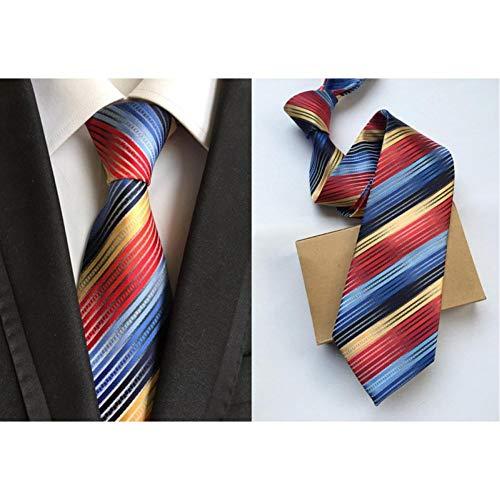 WJZHD Krawatte Feste Herren Krawatten Hals Krawatten 8Cm Seide Gravatas Krawatten Für Männer Hochzeitsanzug Kleid Blau Rot Lila Silber Beige Krawatten