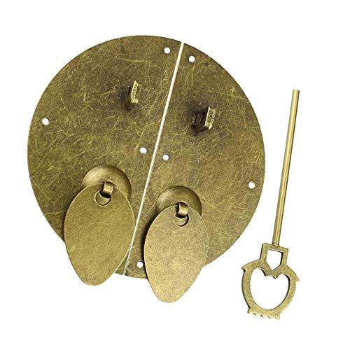 XJF Manija de puerta de gabinete de la vendimia china de los muebles de hardware de la cerradura de la puerta