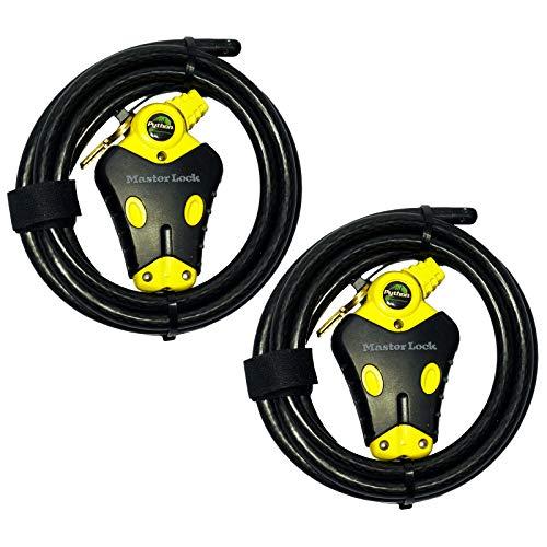 Master Lock - Two 6 ft Python Adjustable Cable Locks