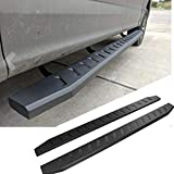 Mifeier 83' Black Flat Nerf Bars Side Step Running Boards Fit 2009-2018 Dodge Ram 1500(2019 Classic Model)/ 2010-2018 Ram 2500/3500 Crew Cab with 4 Full Size Doors