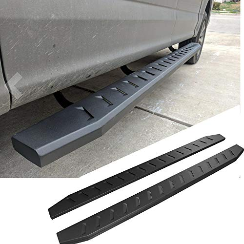 Mifeier 4 Curved Nerf Bars Side Steps Running Boards Fit 09-18 Dodge Ram 1500 10-18 Ram 2500//3500 Crew Cab with 4 Full Size Doors