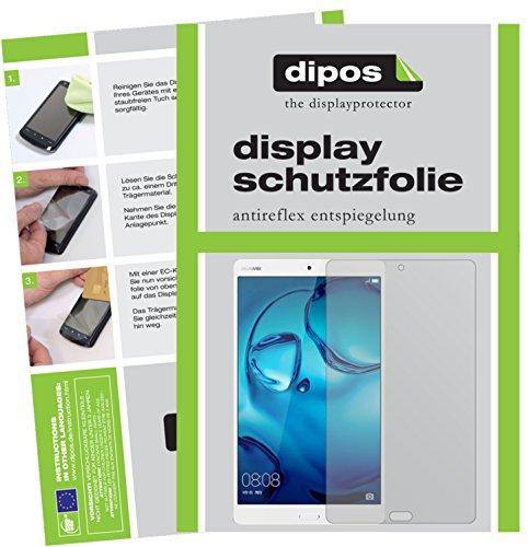 dipos I 2X Schutzfolie matt kompatibel mit Huawei MediaPad M3 Lite 10 Folie Bildschirmschutzfolie