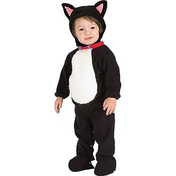 Disfraz de gato para niño gatito, Talla bebé 6-12 meses (Rubies ...