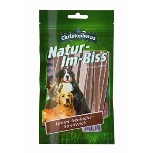 Christopherus | Natur-Im-Biss Lamm-Seelachs-Sandwich | 12 x 70 g