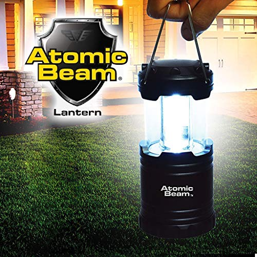 Atomic Beam Lantern Original by Bulbhead, Bright 360-Degree, Collapsible LED Lantern for Emergencies & Camping (1 Pack) (COMIN18JU082654)