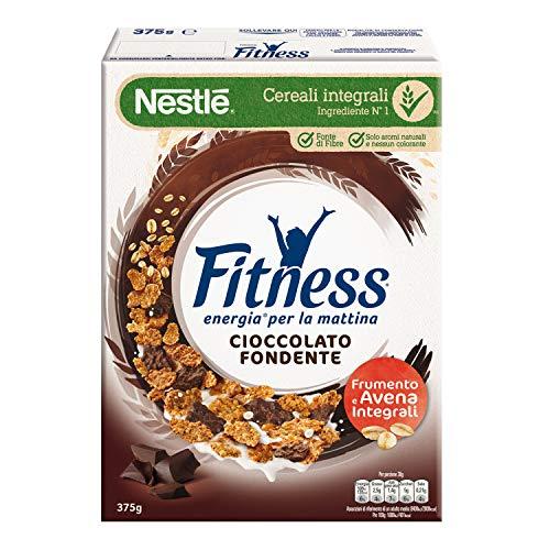 FITNESS Cereali con Frumento e Avena Integrali e Fiocchi al Cioccolato Fondente, 375 g