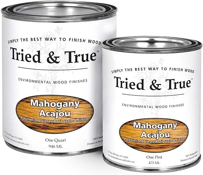 Tried & True - Stain - Mahogany - Quart