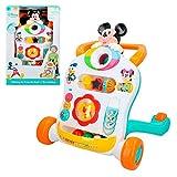 Disney- Topolino Correpasillos andador interactivo, Mickey (