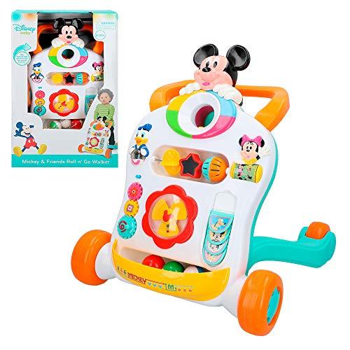 Disney- Topolino Correpasillos andador interactivo, Mickey (Colorbaby 46346)