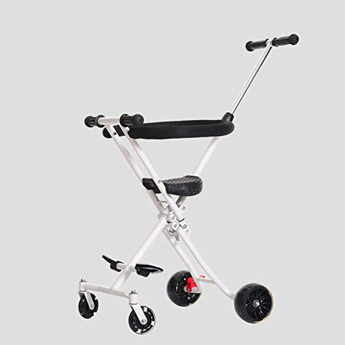 hasta un 70% de descuento L.tsn Carrito De Paseo para Niños con Freno Freno Freno Bebé Artefacto Fuera Niño Carro Plegable Mano Monopatín Ligero Aluminio Simple Caminar  con 60% de descuento