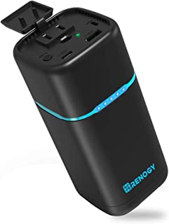 Renogy AC/USBモバイルバッテリー 27000mAH 黒 AC出力 DC出力 一台多機能 小型発電【PSE認証済み】
