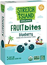 Stretch Island Organic Fruit Bites, Blueberry, 5 ct