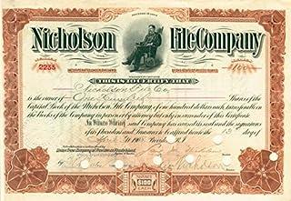 Nicholson File Company