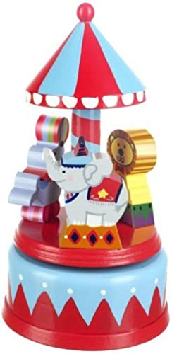 Orange Tree Toys Vintage Circus Musical voitureousel by Orange Tree Toys