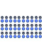 ULTECHNOVO 200 Piezas 20 Mm Vial Tapón de Goma Hongo Autocurativo Vial de Goma Puerto de Inyección Tapas Abatibles Tapones de Botella para Abrir Viales de Vidrio Y Frascos de Cultivo Líquido