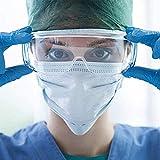 Sooiy Anti-Niebla Médico Gafas, Lentes de Seguridad Virus protección médica,...