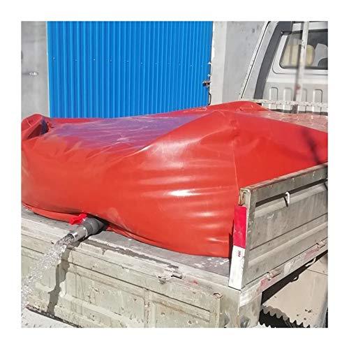 YJFENG Alta Capacidad Vejiga De Agua Resistente Al Desgaste Bolsa De Agua De PVC, Plegable Contenedor De Agua para Coche, Gran Capacidad Suave para Riego De Jardinería, Viaje