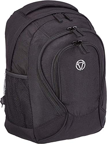 travelite Handgepäck Rucksack für Reise, Freizeit und Sport, Gepäck Serie BASICS Daypack: Funktionaler Rucksack, 096245-01, 41 cm, 22 Liter, schwarz