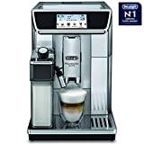 De'Longhi ECAM 650.85.MS Primadonna Elite 1450-Watt Fully Automatic Coffee Machine with TFT Display (Metallic/Black)