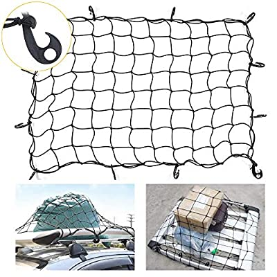 """47""""x 32"""" Bungee Cargo net Stretches to ..."""