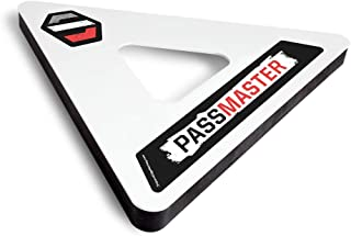 Snipers Edge PassMaster – Master The One-Time and Become A Better Hockey Passer With Quicker & Softer Hands – Heavy Duty D...