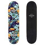 meteor Holz Skateboard Kinder - Mini Cruiser Kickboard -...