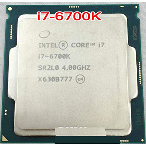 Intel Core 6 Series Processor I7 6700K I7-6700K CPU LGA 1151-land FC-LGA 14 Nanometers Quad-Core CPU