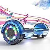 SOUTHERN WOLF Hoverboards, Hoverboards Kinder, 6.5 Zoll Self Balance Scooter mit 350W*2 Motor Beleuchtung RGB LED-Leuchten, Bluetooth-Lautsprecher, Geschenk für Kinder