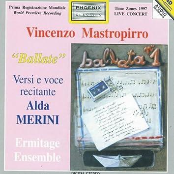 Vicenzo Mastropirro : Ballate