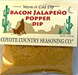 Coyote Country's Bacon Jalapeno Popper Dip Mix (3 Pack)