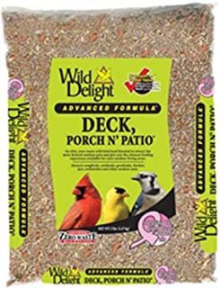 Wild Delight Deck, Porch N' Patio No Waste Bird Food, 5 lb