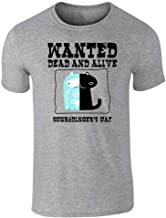 Schrodinger's Cat Wanted Dead and Alive Funny Short Sleeve T-Shirt