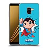Official Super Friends DC Comics Superman Toddlers 1 Soft Gel Case Compatible for Samsung Galaxy A8 (2018)