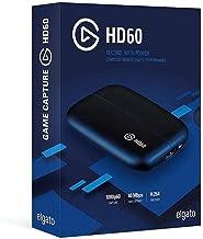 Elgato 10025015 Game Capture HD60 - Functions: Video Game Capturing - USB 2.0 (Elgato10025015) (Renewed)