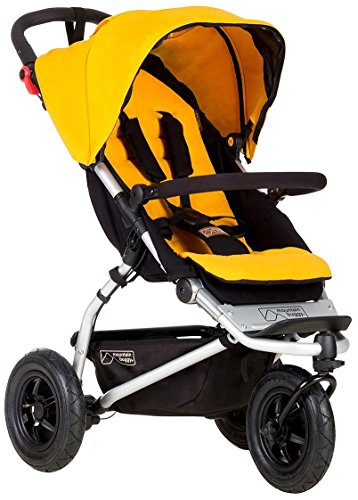 Great Deal! Mountain Buggy Swift Compact Stroller, Gold