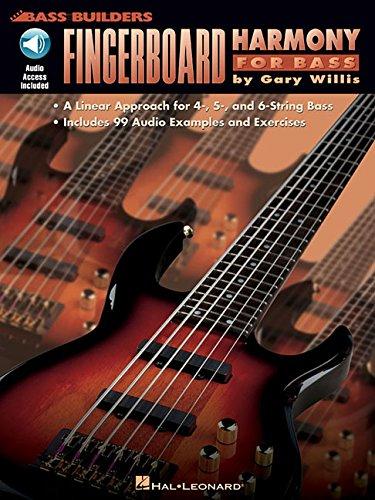 Fingerboard Harmony For Bass Bass Builders Bass Guitar Bk/Cd -Album-: Noten, CD für Bass-Gitarre
