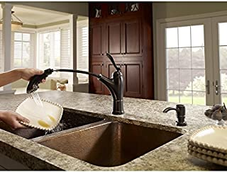 Pfister Glenfield Tuscan Bronze 1-Handle Pull-Out Kitchen Faucet